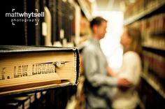 Library Engagement Shoot (Matt Whytsell Photography)