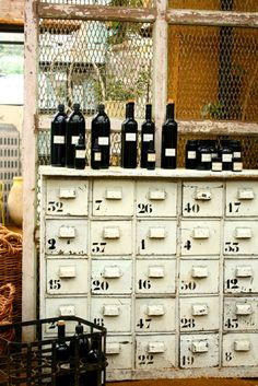 drawers and wine....what more could a girl ask for?