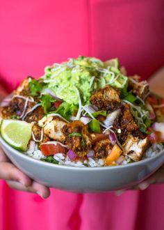 Copycat Chipotle/Qdoba burrito bowls