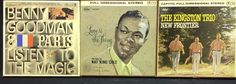 Vintage Stereo Reel to Reel Tapes: Nat King Cole Benny Goodman Kingston Trio