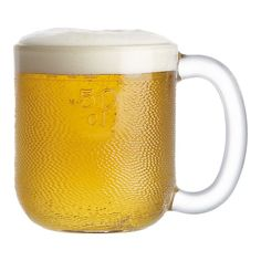 Iittala Krouvi 20 oz. Beer Mugs from Crate and Barrel are a favorite of Glass Half Full.