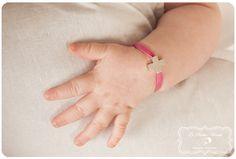 joyas para bebes pulsera cruz de plata