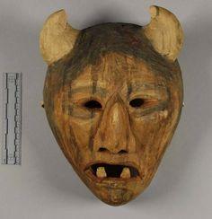 Buffalo Booger Mask, N C Cherokee, NMNH