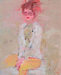 Adolescence, 2014, acrylic on canvas, 100x80cm
