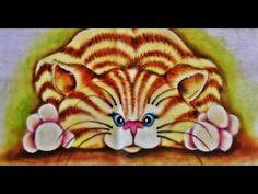 pintura panos de prato - Pesquisa Google