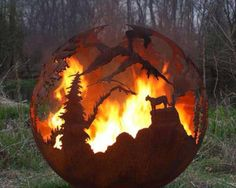I would love to have this fire pit