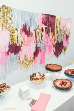 wedding dessert table idea; photo: Steve Cowell