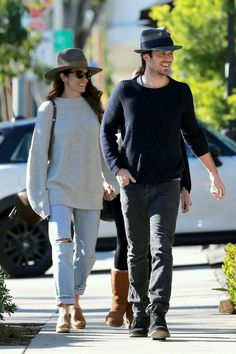 Ian Somerhalder and Nikki Reed are such a picture perfect couple!  The 38-year-old actor and 28-year-old actress stepped out with her mom Cheryl as they headed to lunch on Monday (December 19) in West Hollywood, Calif.