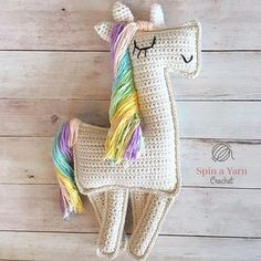 The free pattern for our Ragdoll Unicorn is finally availablehellip