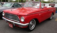 1961 Rambler American 400 convertible.