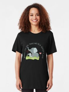 """MONNY CAN YOU TAKE ME TO SAFER PLACE shirt ,Mom and baby elephant"" T-shirt#MONNYCANYOUTAKEMETOSAFERPLACEshirt #Momand babyelephantT-shirt #Momelephant Can You Take, Take My, Mom And Baby Elephant, Safe Place, Chiffon Tops, Classic T Shirts, Typography, T Shirts For Women, Design"