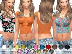 Sims 4 CC's - The Best: Top by Ekinege