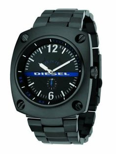 Diesel's Men's Analog watch #DZ1202 Diesel. $170.00. Water Resistant - 100M. Precision Crafted Quartz Movement. Stainless Steel Case and Band with Push Button Deployment Clasp. Mineral Crystal