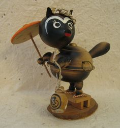 The story of the teapot Tanuki is an old Japanese folk tale.