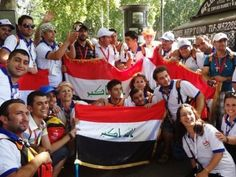 Guardate che bei sorrisi sui volti di questi ragazzi iracheni alla GMG di Madrid. Facciamoli sorridere ancora, aiutiamoli a partecipare anche alla GMG di Rio de Janeiro! http://acs-italia.org/campagne/