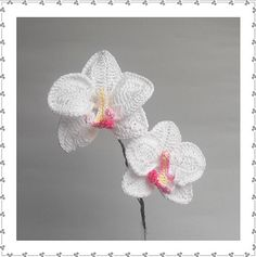 Orchid A pattern by Claudia Giardina, preview of pdf-book with crochet patterns