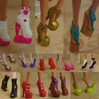 2016 cute  quality Original 5 pairs shoes for The monster high Doll Party a3000