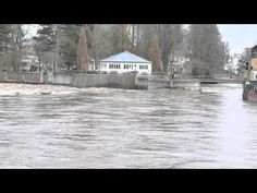 Hochwasser in Bad Kreuznach - YouTube