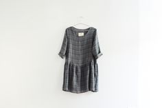 Stormy Plaid Dress by Fairhcloth and Supply, via OfaKind.com