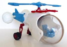 Micronauts Hydrocopter My bro had this and we played with the parts more than we played with it put completely together.