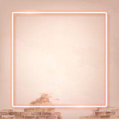 Pink Marble Background, Brick Wall Background, Black Brick Wall, White Brick Walls, Pink Neon Lights, Instagram Frame Template, Pink Tiles, Neon Design, Framed Wallpaper