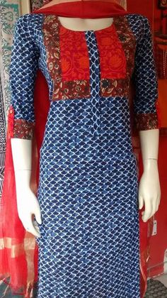 Different Types of Kurti Designs Every Woman Should Know (With Video Tutorial) - ArtsyCraftsyDad Salwar Neck Designs, Churidar Designs, Kurta Neck Design, Neckline Designs, Kurta Designs Women, Dress Neck Designs, Blouse Designs, Kurti Patterns, Dress Patterns