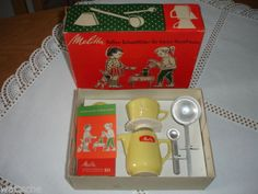 Melitta-Minden-Kaffee-Filka-Filter-und-Kanne-fuer-Kinder-altgelb-in-OVP-3