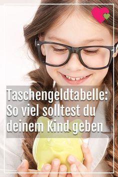 #taschengeld #geld #erziehung #kind #kinder #tabelle #eltern #mama #papa #liebe