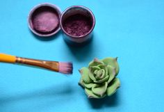 How-to fondant succulents (for my sister's wedding cake) @Mindy Burton Burton Evers Castanon