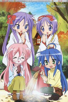 Kagami Yoshimizu, Akitake Seiichi, Kyoto Animation, Lucky Star, Tsukasa Hiiragi
