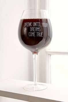 XL Wine Glass by Urban Outfitters