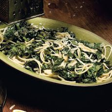 Spaghetti with Braised Kale Recipe