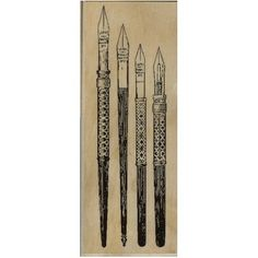 """Antique Dip Pens, later, we know them as """"fountain pens""""..."""