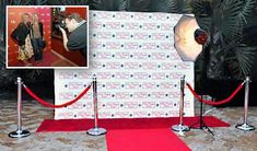 Red carpet photo booth, this is absolutely cool!!