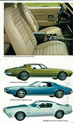 1971 Pontiac Firebird Range