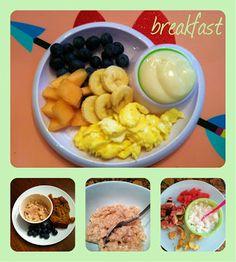 Mommy Marvelings - toddler breakfast ideas