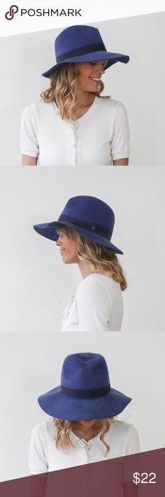 f94d847919eeed Free People Blue Floppy Hat Free People (Grace brand) cobalt blue hat. Only