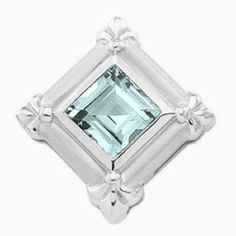 Platinum Princess Cut Sky Blue Topaz Pendant Gems-is-Me. $1611.26. FREE PRIORITY SHIPPING. This item will be gift wrapped in a beautiful gift bag. In addition, a 'gift message' can be added.