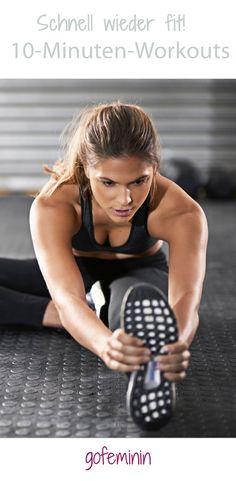 Müde, schlapp? Diese schnellen 10-Minuten-Workouts machen dich wieder fit!