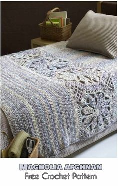Magnolia Afghan Free Crochet Patterns for Afghans