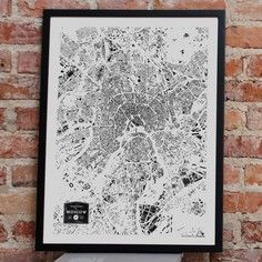 Buildings Of Moscow Print