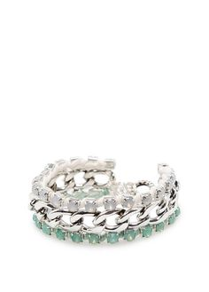 MANGO - TOUCH - Crystals chain link bracelet