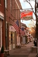 Saywell's on Main Street, Hudson. The best ice cream fountain anywhere....