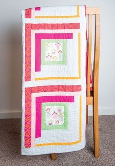 Bird Cabin Quilt by Mandy Munroe in Popular Patchwork April 2016