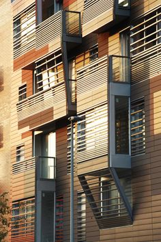 Granollers Social Housing Architecture by Bailo Rull Add+ Arquitectura