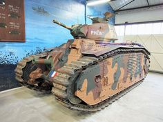 Renault bis,Tanks in the Musée des Blindés, France, Gun Turret, Saumur, Ww2 Tanks, Leaf Spring, France, Military Weapons, World War Ii, Military Vehicles, Wwii
