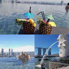 Desde Singapur con amor ...💖 nos envían Sandra y Jesús las fotos de su primera parada en su Viaje de Novios 😍 Love, Travel, Boyfriends, Singapore