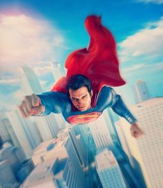 Superman Superman And Lois Lane, Superman Family, Superman Man Of Steel, Supergirl Superman, Batman Vs Superman, Batman Art, Superman Stuff, Dc Comics Art, Anime Comics