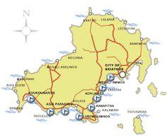 The Island of Skiathos