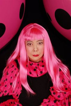 "The ""Polka Dot Princess"", #YayoiKusama on NOWNESS."